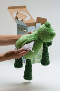 Putting a scent pack in a scentsy buddy