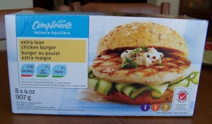 Compliments chicken burgers