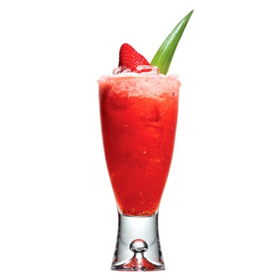 Strawberry punch cocktail