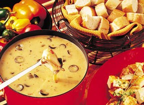 Mexican style fondue